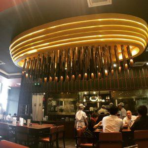 三ツ矢堂製麺の店内