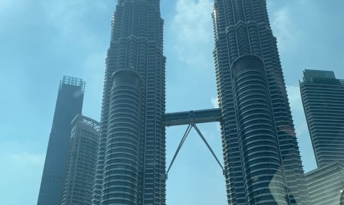 マレーシアのシンボル、ペトロナスツインタワー