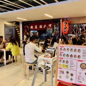 クアラルンプール麺屋獅子道店舗外観