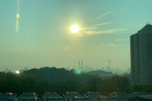 マレーシアの大気汚染ヘイズ